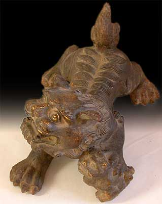 Iron Fu Dogs Lion