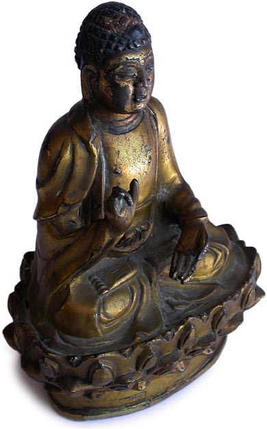 S.E. Asian Gold Buddha