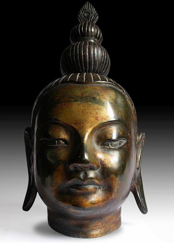 Southeast Asian Buddha Head