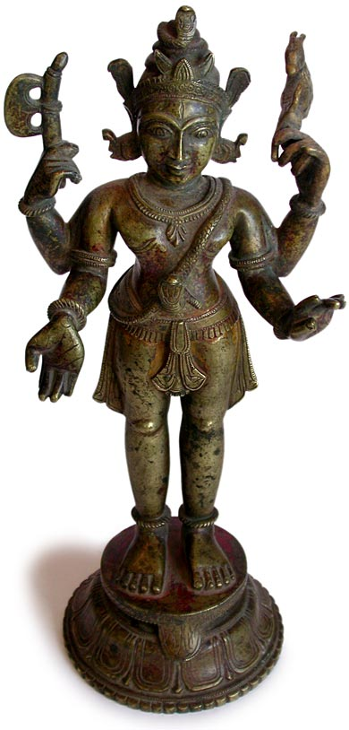 Four Armed Shiva