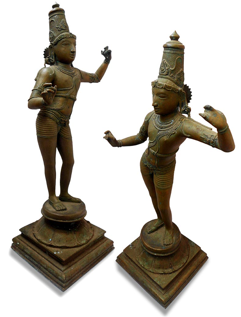 Chola Bronze Sri Rama
