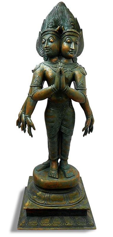 Chola Bronze God of Fire Agni