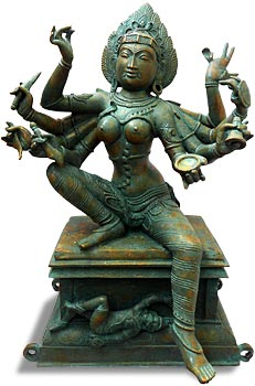 Eight-armed Kali