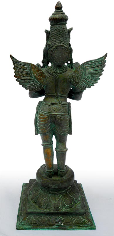 Chola Bronze Garuda back