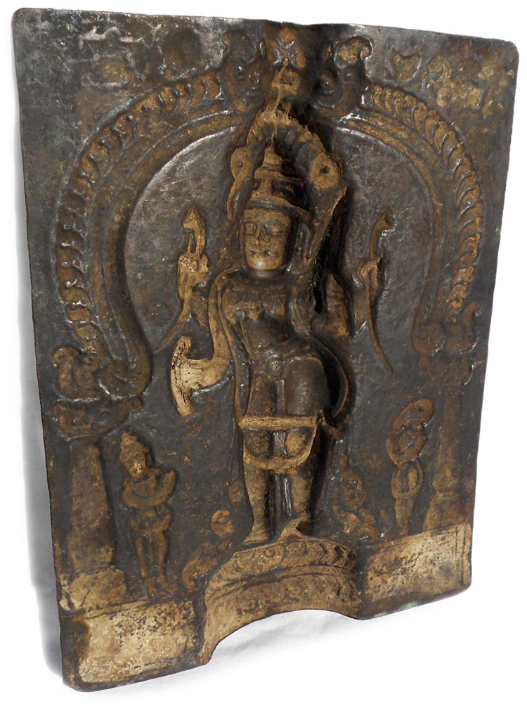 Virabhadra repousse backside