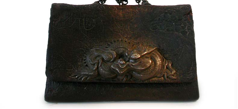 Japanese Dragon Tobacco Pouch