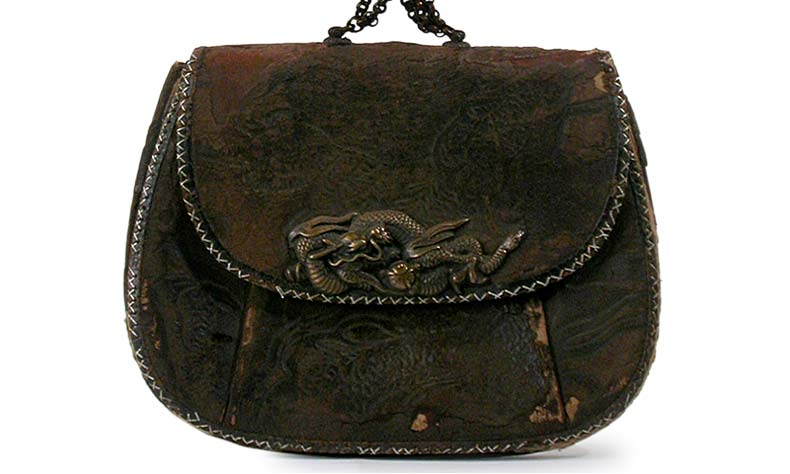 Dragon Menuki Tobacco Pouch