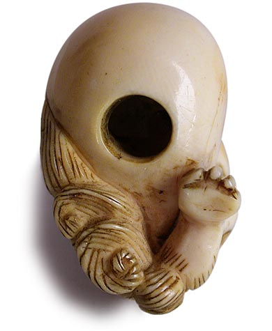 Shishi Netsuke Bottom