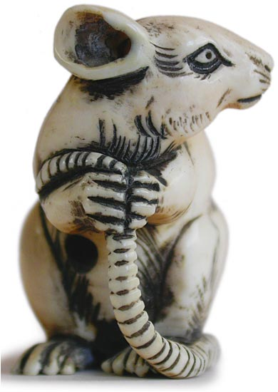 Little Mouse Netsuke