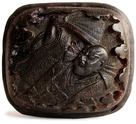 Shinto Priest Manju Netsuke