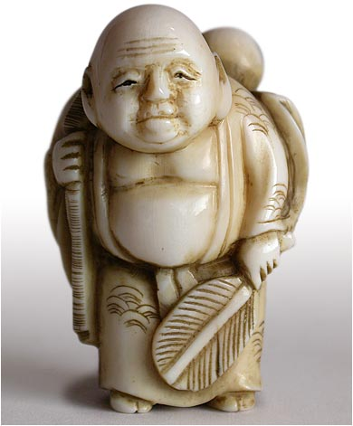 Little Hotei Netsuke