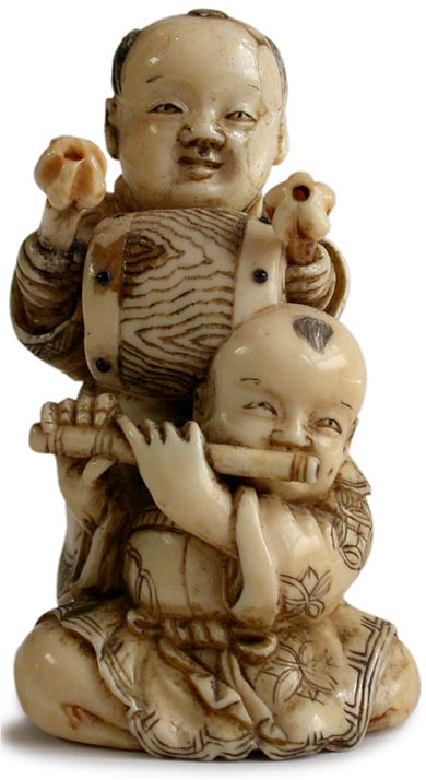 Children's Day Netsuke