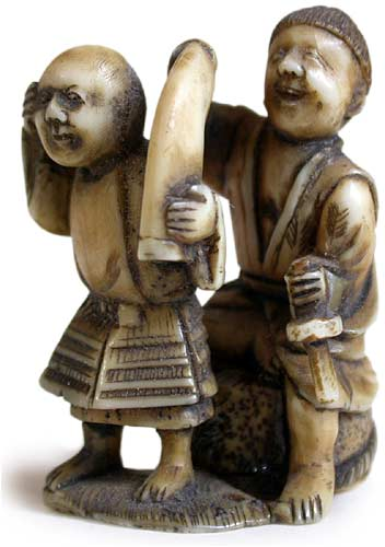 Blindmen Netsuke