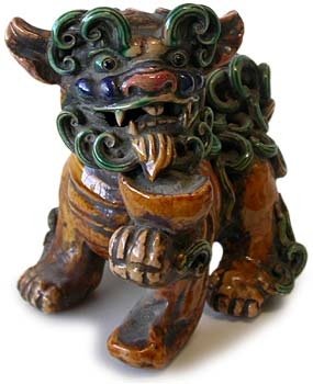 Sancai Foo Dogs