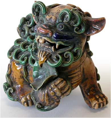 Sancai Foo Dog