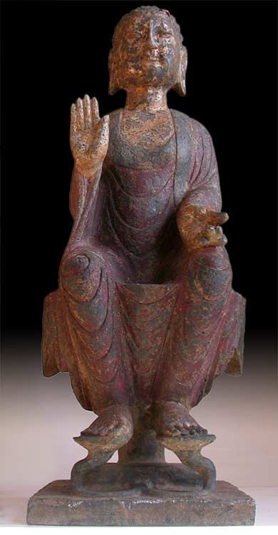 Song Dynasty Stone Buddha