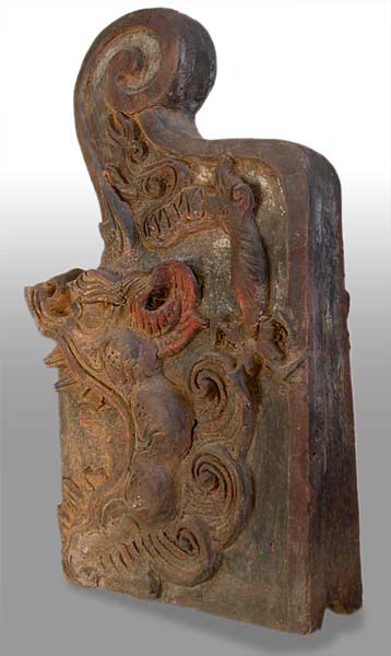Dragon Head Corbel Roof Tile