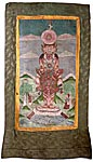 Cosmic Man Thangka