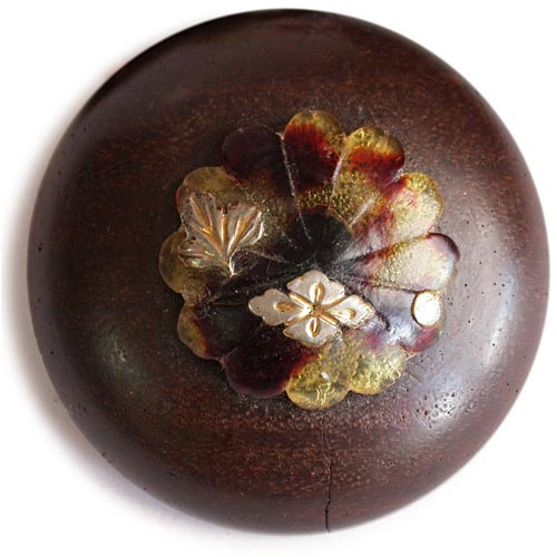 Kamon Tortoise Shell Wood Manju