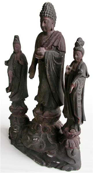 Amitabha Triad Shrine