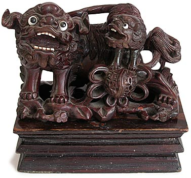 Foo Dog and Cub