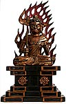 Fudo Myoo Wood Shrine