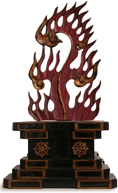Fudo Myoo Wood Shrine front