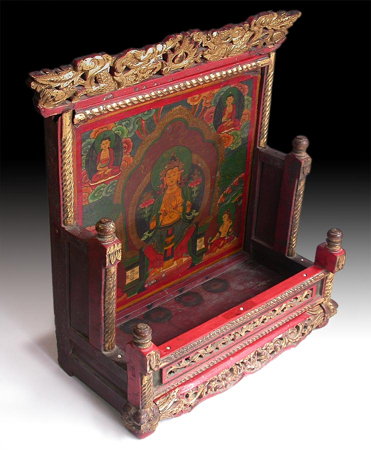 Maitreya Wood Shrine