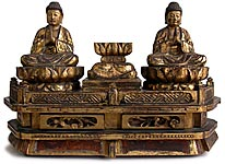 Twin Buddha Shrine