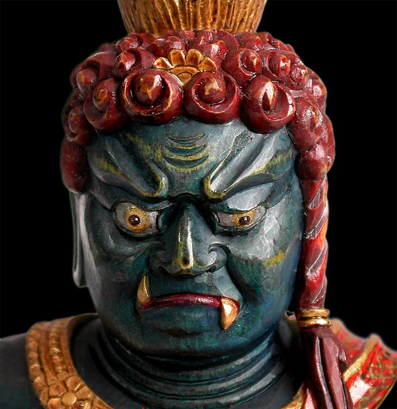 Fudo Myoo close-up