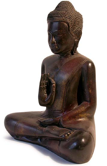 SouthEast Asian Wood Buddha