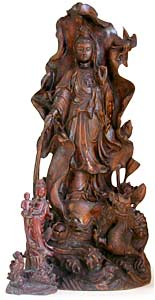 Large Wood Quanyin
