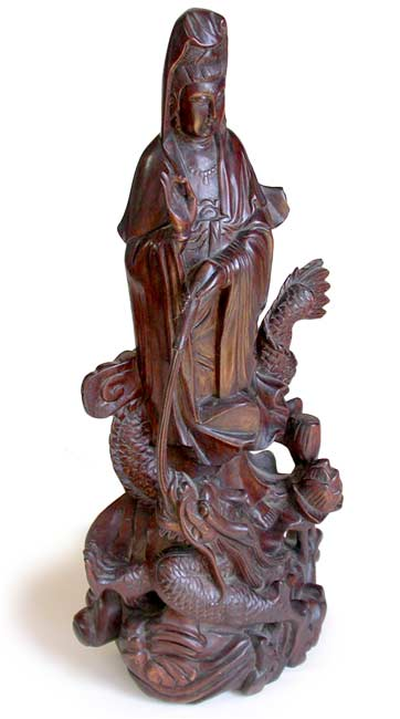 Guan Yin on Dragon