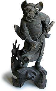Demon Queller Statue