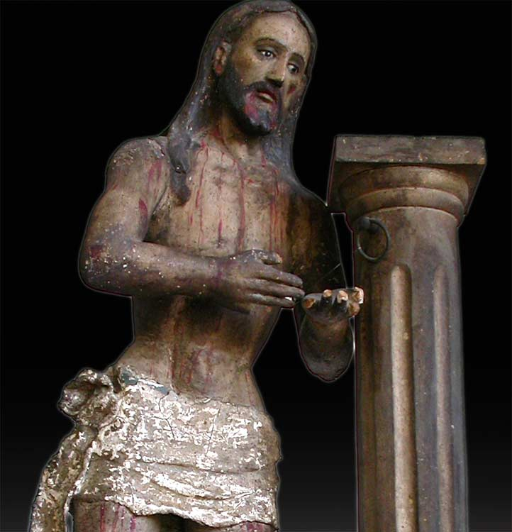 Passion of Christ Wood Carving